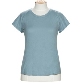 Alchemy Equipment Organic Fitted - T-shirt manches courtes Femme - Bleu pétrole